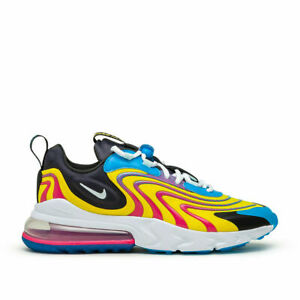 Nike Air Max 270 React ENG Men's Sportswear Running Shoes CD0113 400 Laser Blue