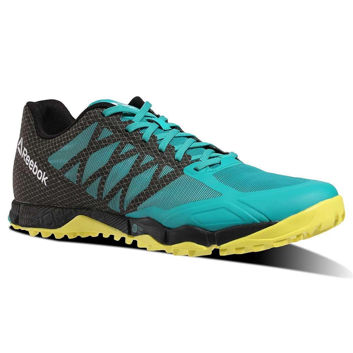 Reebok zapatos atléticos para hombre R Crossfit Speed campo de entrenamiento calzado neon Pacific