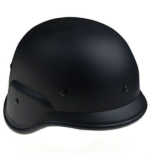 Negro military army police   Swat Tactical Casco M88 Paintball Airsoft Sombrero duro