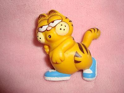 Garfield Vintage 1981 Jogger Running 2 Pvc Ebay