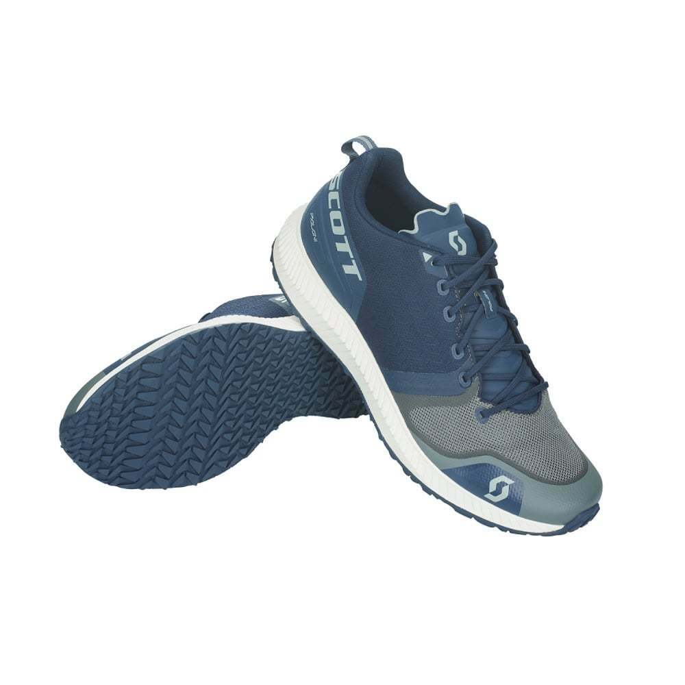 Scott Palani Mens Cushioned Road Running shoes Navy bluee Grey