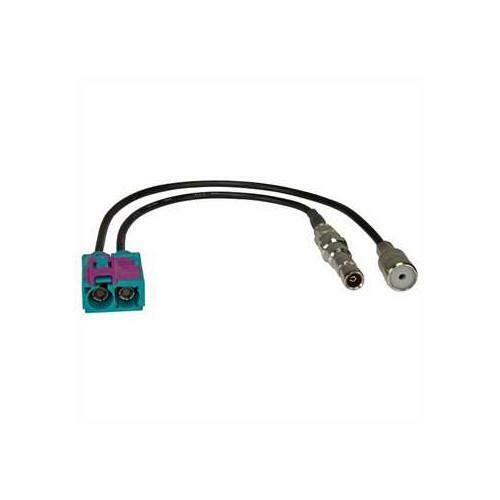 F SMB //GPS 50 Ohm en doble FAKRA Adaptador de antena ISO