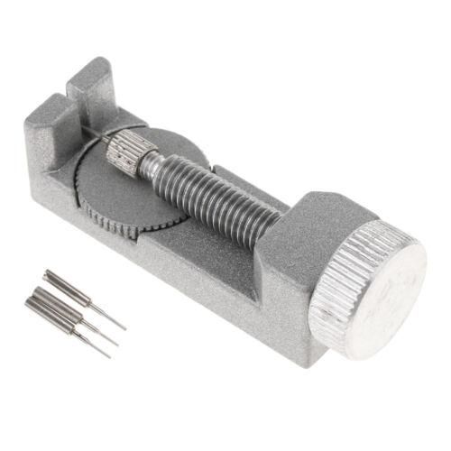 0,7 mm Uhrmacher-Werkzeug Metal-Uhrenarmband-Entferner mit 3 Stücke Pins