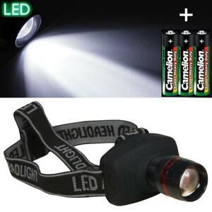 Kopflampe-Stirnlampe-fokussierbar-LED-Taschenlampe-mit-Kopfband-Batterie-aussen