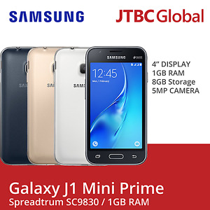 "New Samsung J1 Mini Prime J106B/DS 4.0"" 3G 5MP 8GB (FACTORY UNLOCKED) Phone"