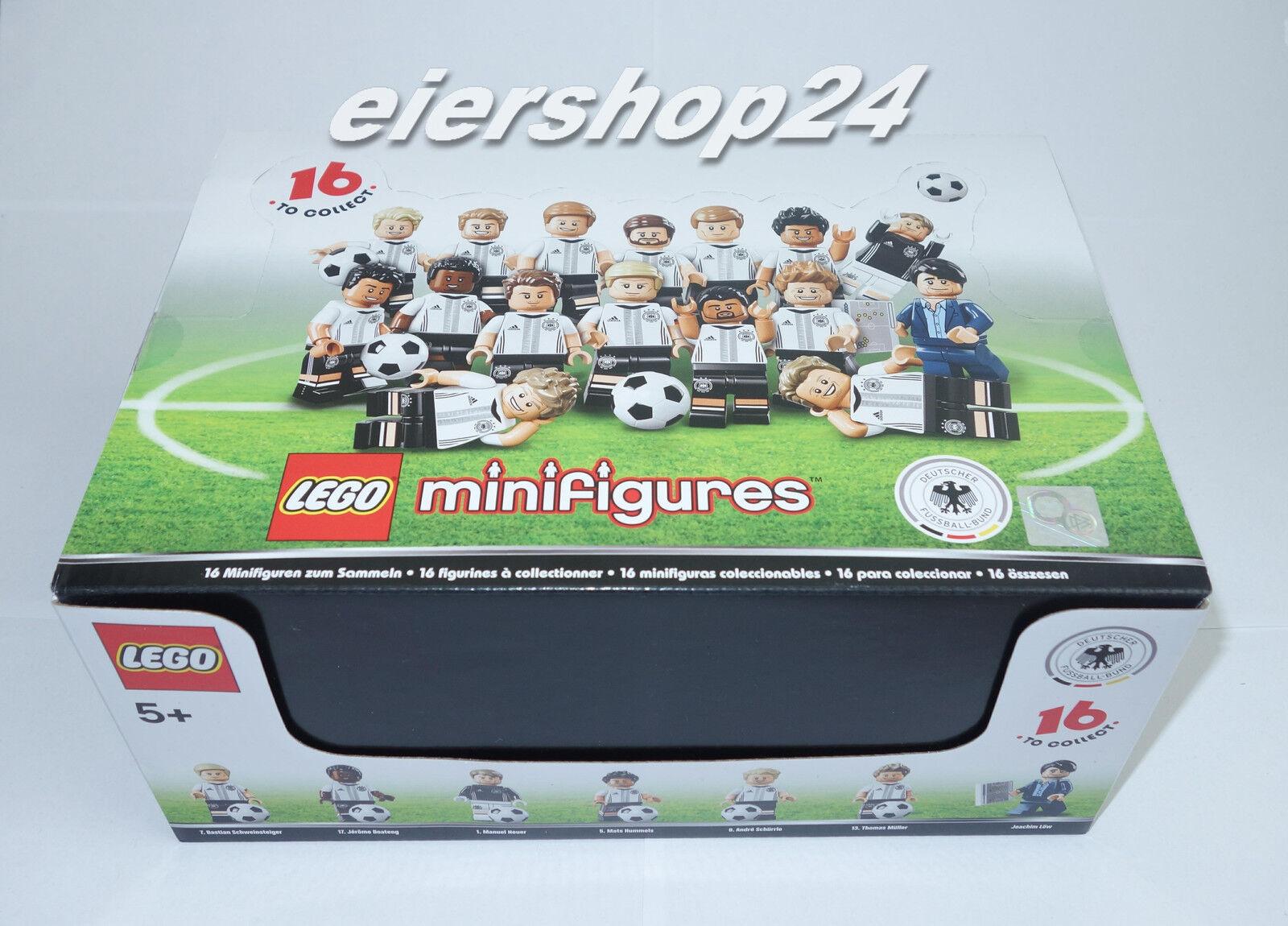 Ungeöffnetes Display Display Display LEGO® MINIFIGUREN  71014 DFB DIE MANNSCHAFT Fußball 60 Stk. 44e1e4