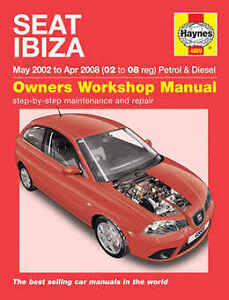 seat ibiza repair manual haynes manual workshop service manual 2002 rh ebay co uk Seat Ibiza 1995 Interior Seat Ibiza 2002 Tuning
