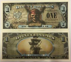 Walt-Disney-Mundo-2007-Piratas-De-Del-Caribe-Black-Pearl-Uno-Dolar-F00003924B