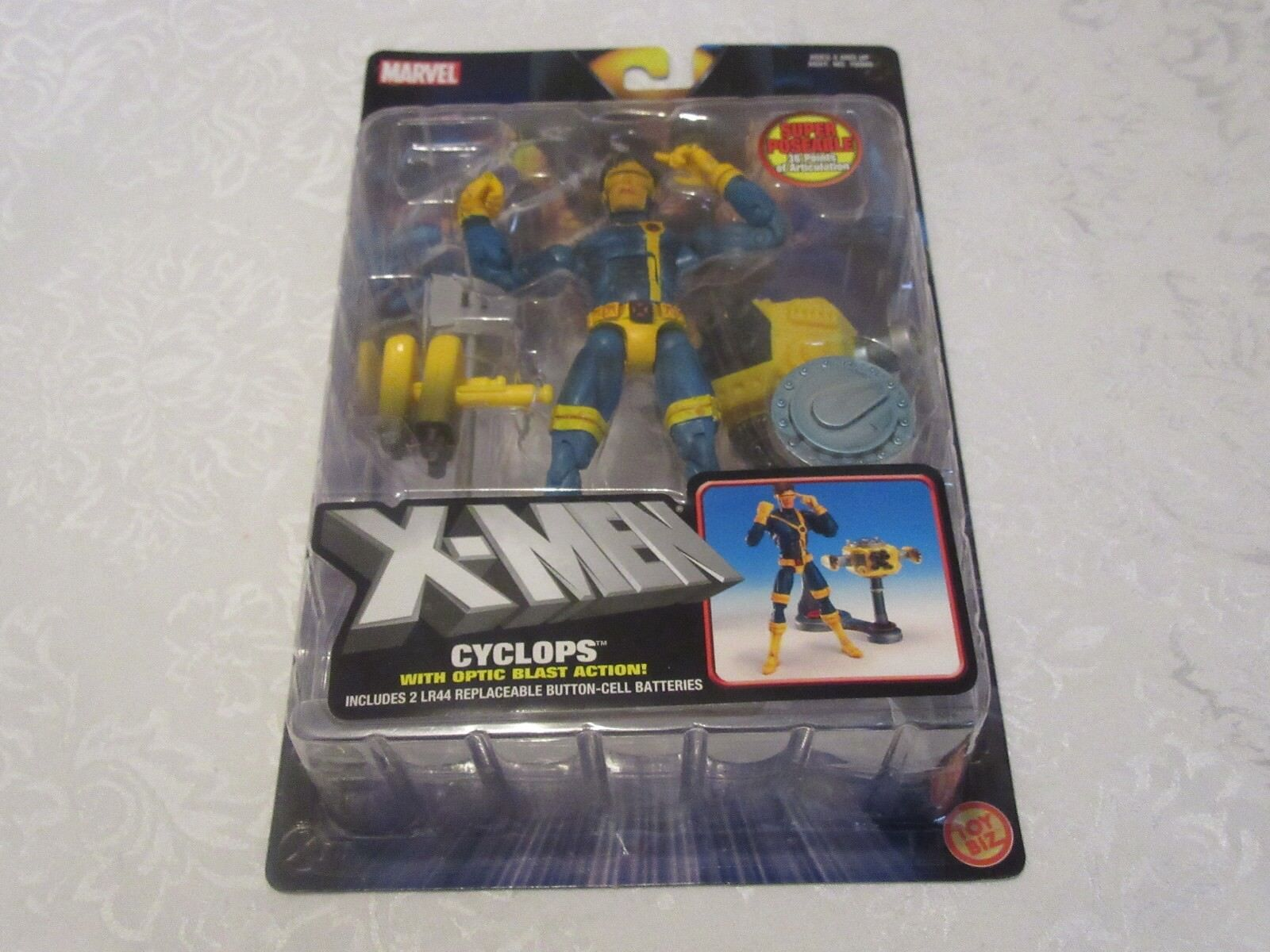 Toy Biz Marvel X-Uomo Classics Jim Lee Cyclops Optic Blast Action Figure