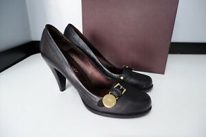 Mulberry Bayswater Black Leather Court