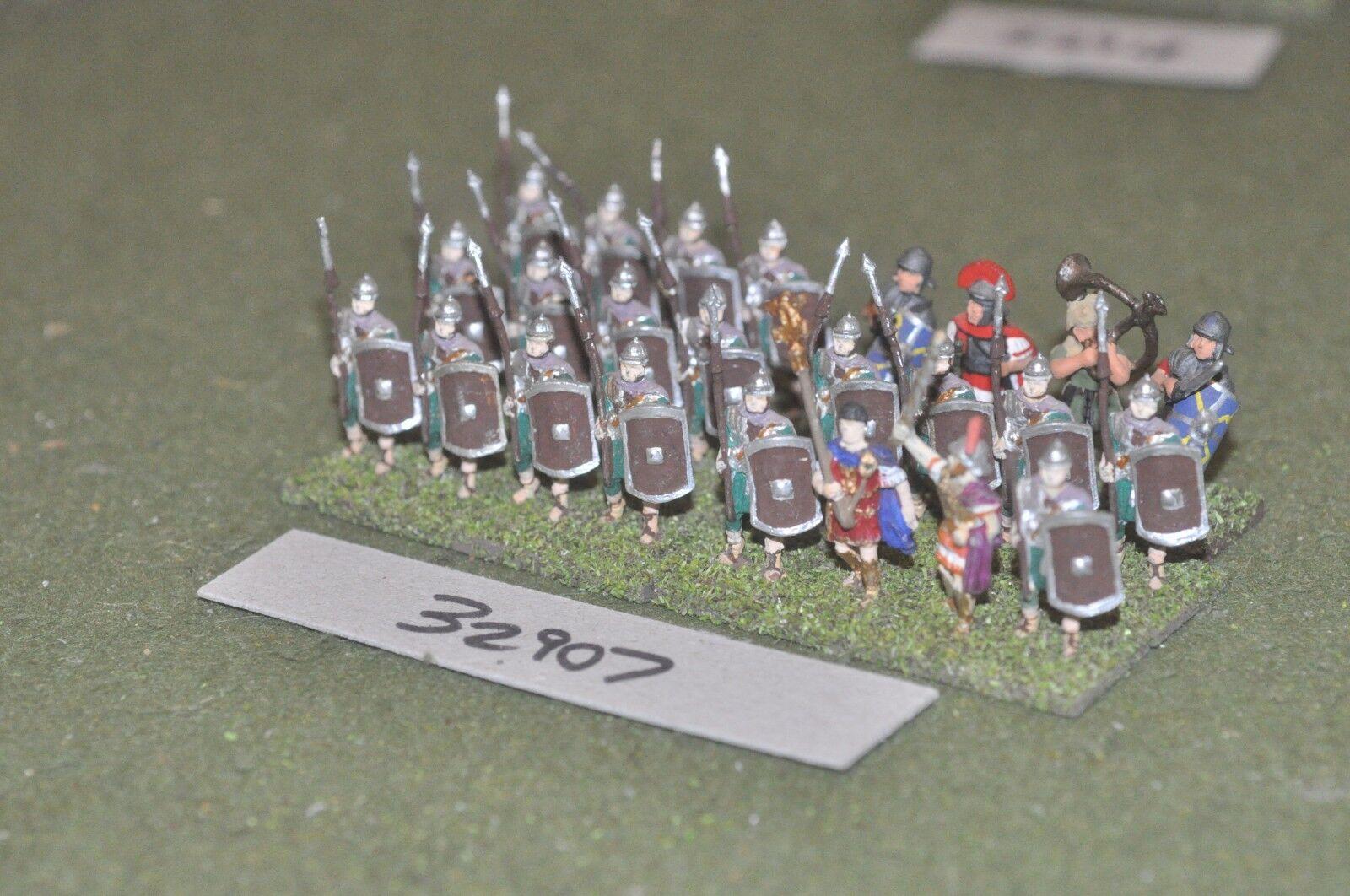 25mm roman era   roman - legionaries 24 figures - inf (32907)