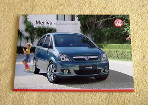 Vauxhall-Meriva-A-range-2007-No2-inc-Expression-Life-Club-Design-VXR