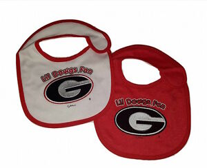 NCAA Officially Licensed 2 Pack Team Color Baby Bib Oklahoma University Sooners