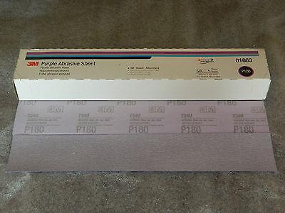 3M Purple Hookit Abrasive Sheet 01863 P180
