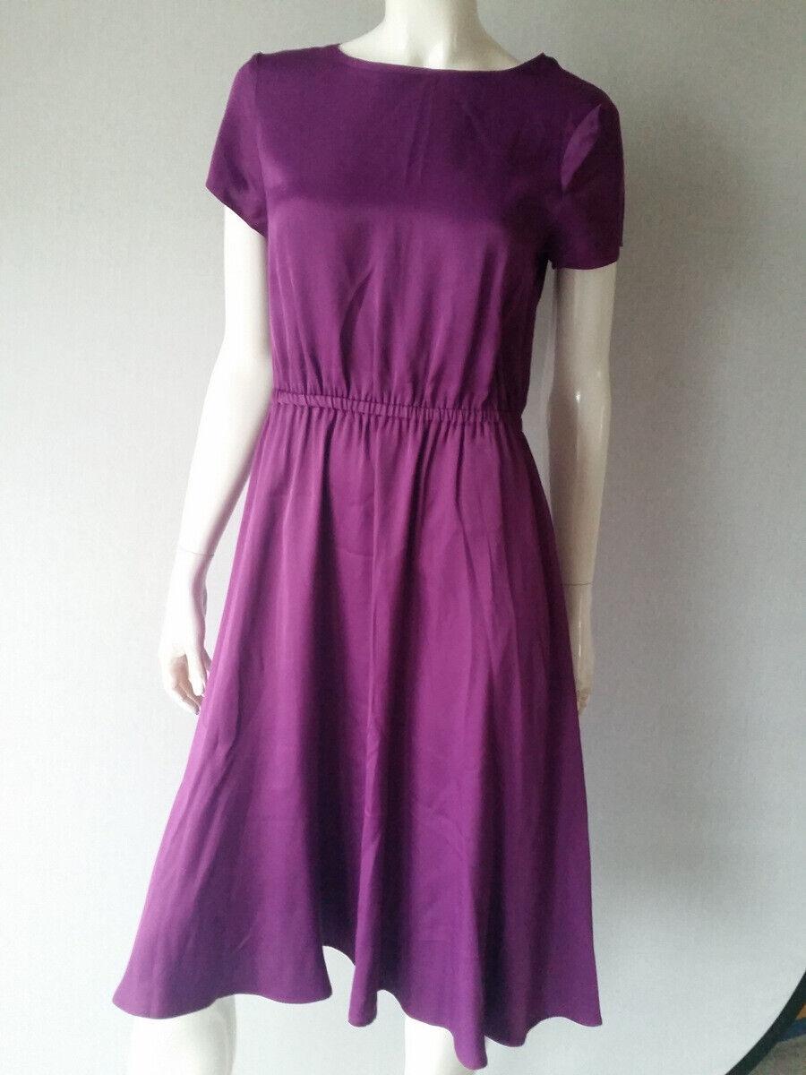 HALLHUBER Kleid schwingend fuchsia Gr.36--UK8NEUNEU