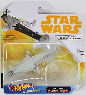 Other Vehicles Toys & Hobbies Rational Hot Wheels Star Wars Imperial Arrestor Cruiser Starships Stand 1:64 Solo Fjf25 Making Things Convenient For Customers