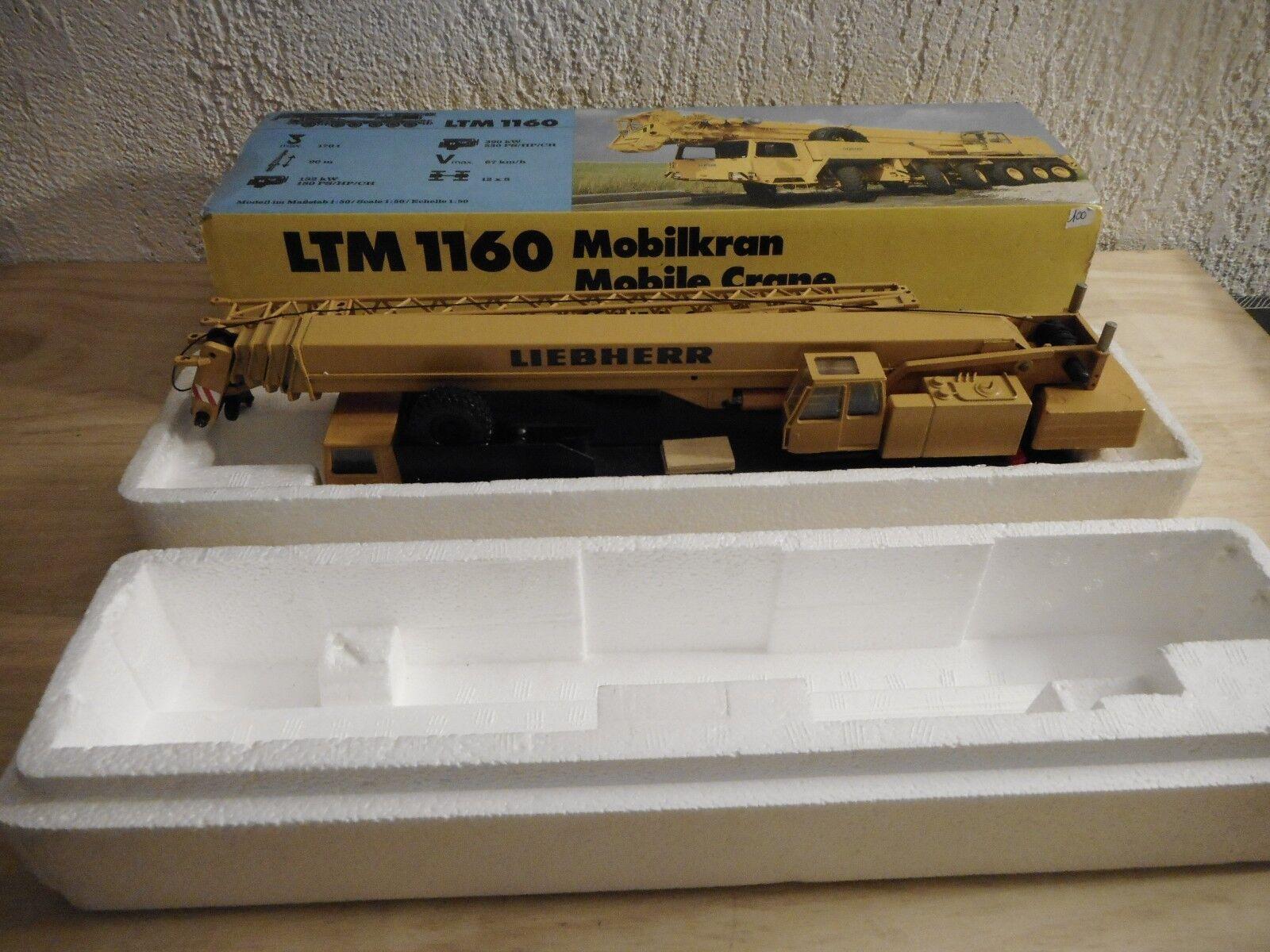 conrad n° 2082 grue grue grue automotrice LTM 1160 LIEBHERR  1/50  nzg fc5be2