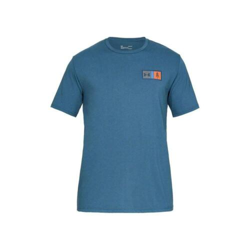 NEW Under Armour Men's Athletic Timber Graphic Short Sleeve Crew Neck T-Shirt