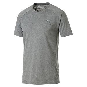 Details zu PUMA Evostripe Move Tee Herren T shirt Sportswear 854071 03 grau