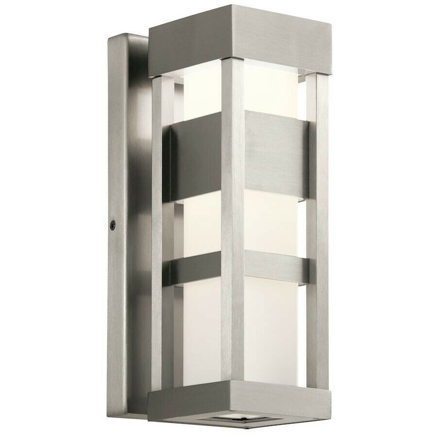 """Kichler 11251AZT30 12/"""" Tall LED Outdoor Wall Sconce"""