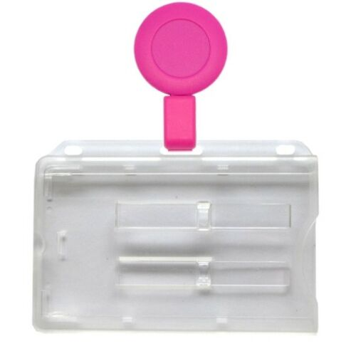 Kartenhalter 2 Karten mit Ausweisjojo Skipasshalter Ausweishülle Kunststoff
