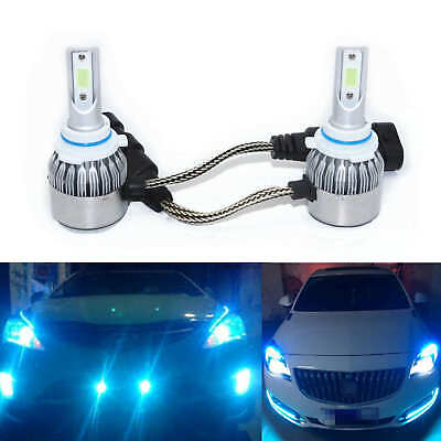 2 9006 HB4 LED Fog Lights Conversion Bulbs Kit 4000LM 8000K Ice Blue Headlight
