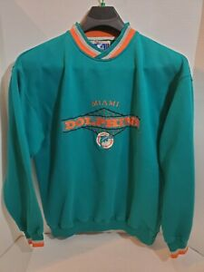 Miami-Dolphins-Starter-XL-Sweat-Shirt-Pull-Over-Long-Sleeve-NFL-Football-Team