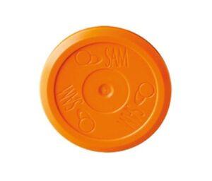 SAM Air Hockey Puck – Orange - For Quieter Slower Games