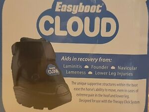 EASYBOOT Red Firm 12mm EASYCARE Hoof Boots Pair COMFORT PADS Therapy Cloud