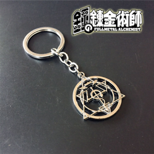 Fullmetal-Alchemist-Ouroboros-Alloy-Metal-keychain-of-Snake-Sign-Circle-of-Power