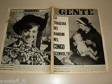 GENTE 1964/50=RITA PAVONE=GAIA GERMANI=CLAUDIA CARDINALE=GIULIO BERTOLA=
