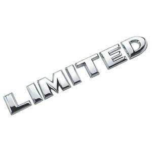 Limited-3d-Autocollant-sticker-voiture-moto-Argent-Sport-Edition-Racing-chrome