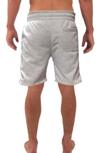 Men/'s Signature Conquer Gray Fleece shorts sweatpants Jogger Workout Gym V284