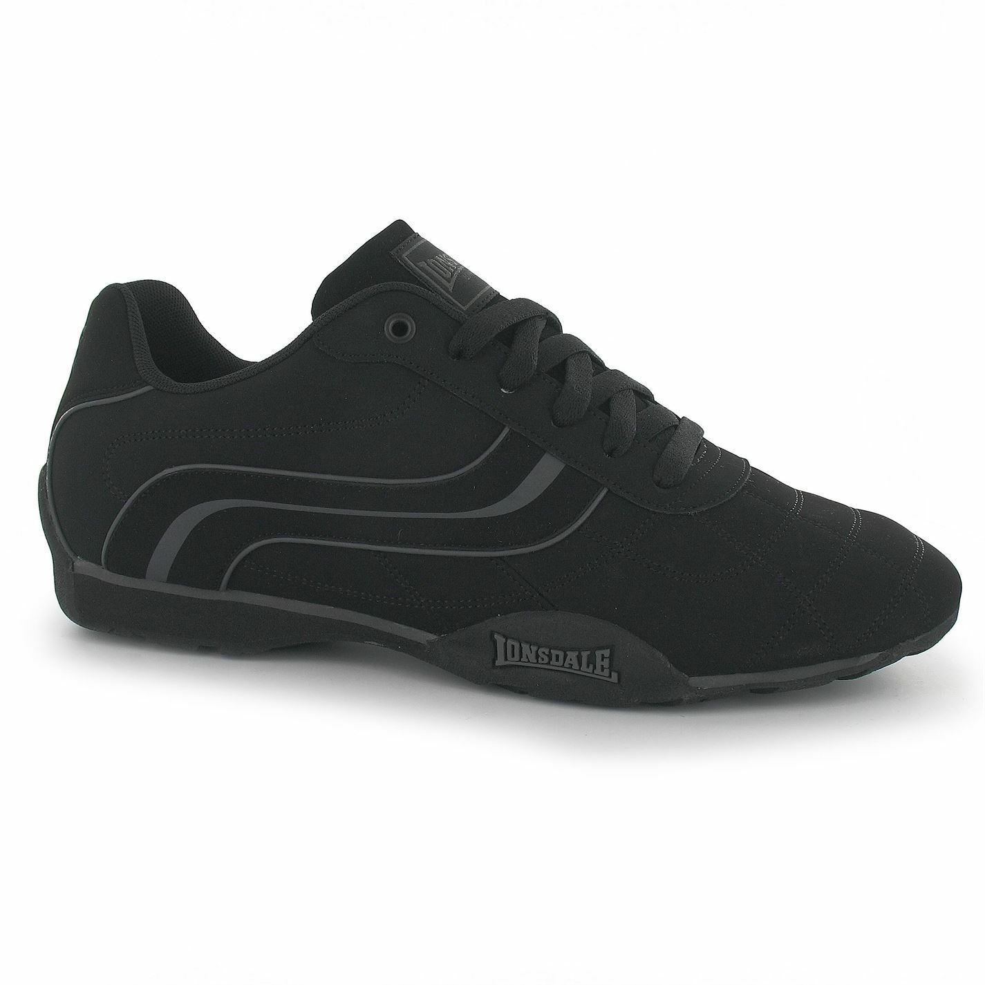 lonsdale camden schwarz ausbilder bei schwarz / schwarz camden lässige sneakers, schuhe, schuhe fec8a3