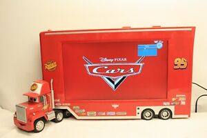 Disney-C1900DL-Pixar-Coches-Mack-Camion-19-034-LCD-TV-amp-Reproductor-DVD-Repuesto-amp