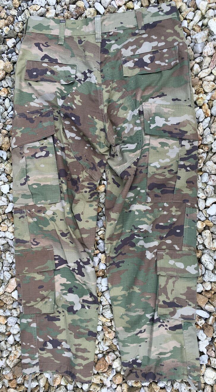 US Army ACU OCP ACU Army Scorpion W2 Combat Uniform Tarnhose pants Hose Small Short 26ab34