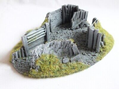 TERRAIN MEDIUM TYPE 1-25 mm to 28 mm = 00 GAUGE JAVIS BATTLE ZONE TERRAINS