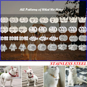 Double-Side-Custom-Engraved-Pet-Dog-Tags-Stainless-Steel-Personalized-Cat-ID-Tag