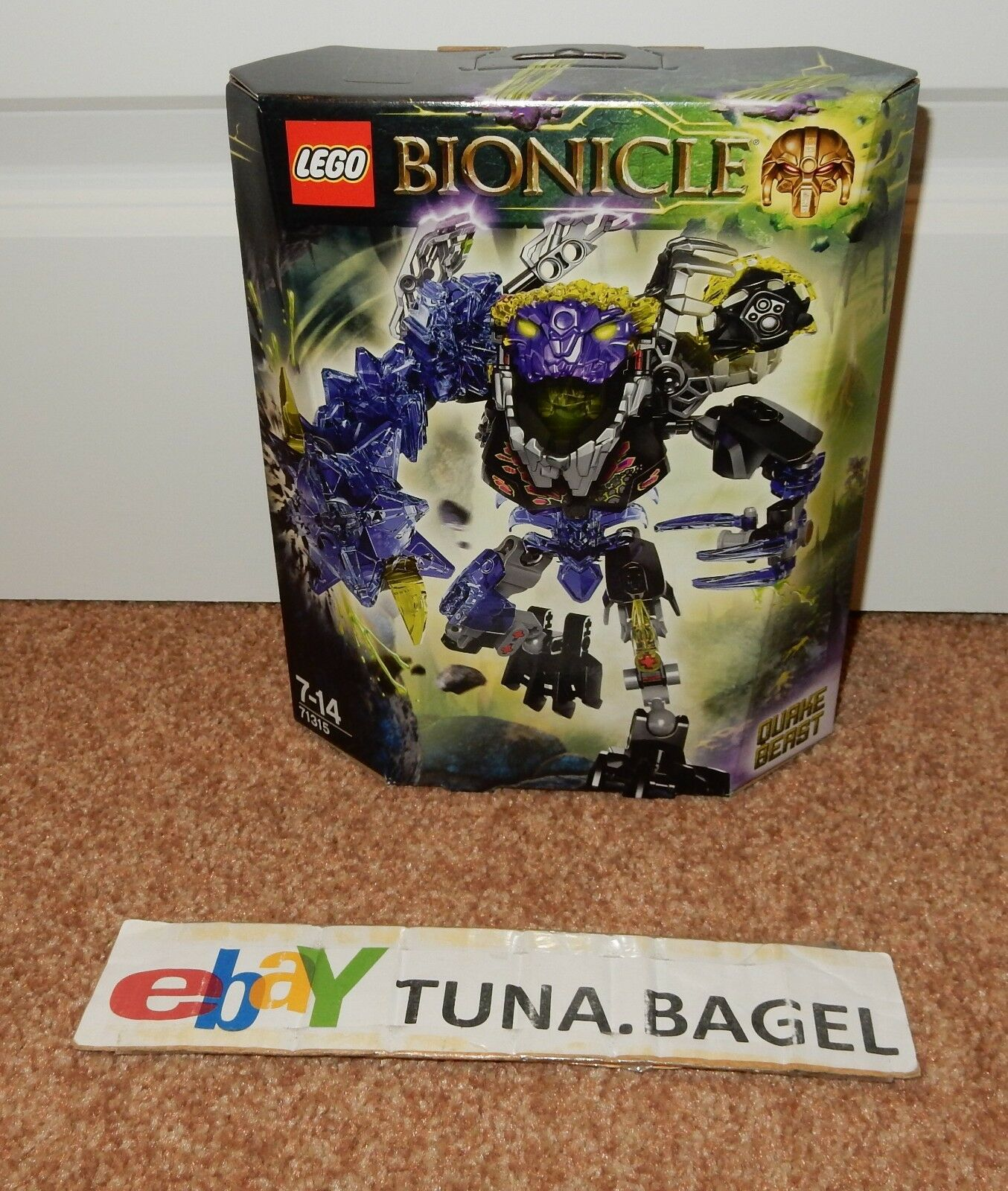 Lego Bionicle Quake Beast (71315) (71315) (71315)  más descuento