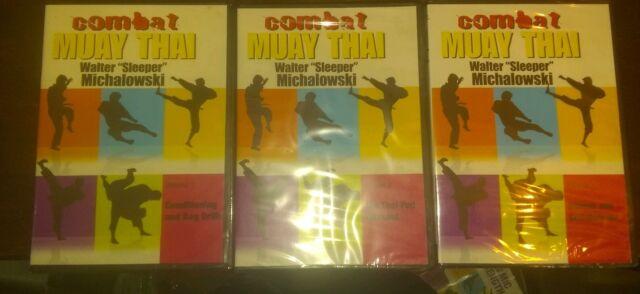 Muay Thai Kickboxing Training DVDs KAMAND