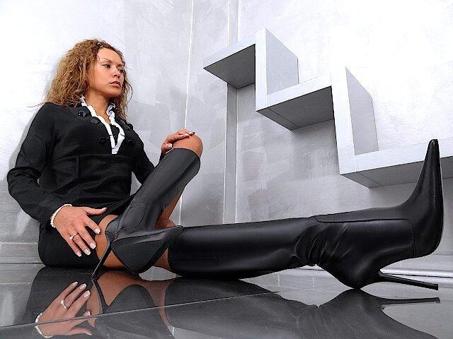 MADE IN ITALY NEU DAMEN BOOTS SEXY N4 HIGH HEELS BOOTS DAMEN STIEFEL SCHUHE LEDER SCHWARZ 40 a3b96e