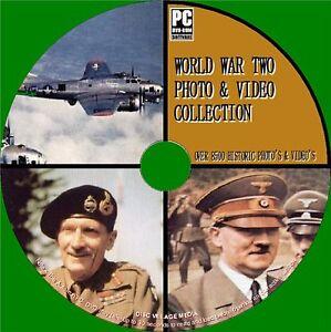 9000-Zweite-Weltkrieg-image-amp-VIDEO-ARCHIV-Sammlung-PCDVD-NEU-WW2-Memorabilia