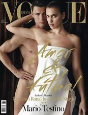 VOGUE Magazine ESPANA Spain Spanish,Cristiano Ronaldo,Irina Shayk NEW