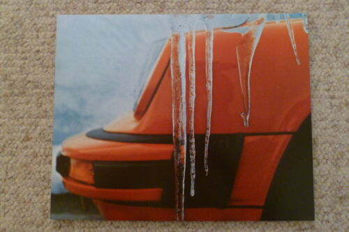 Awesome L@@K 1975 Porsche 911 Coupe Showroom Advertising Sales Poster RARE!