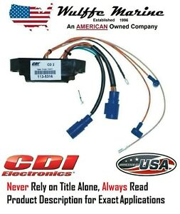 CDI 113-4767 584768 Power Pack for Johnson Evinrude 20 25 28 30 35 40 50 Hp
