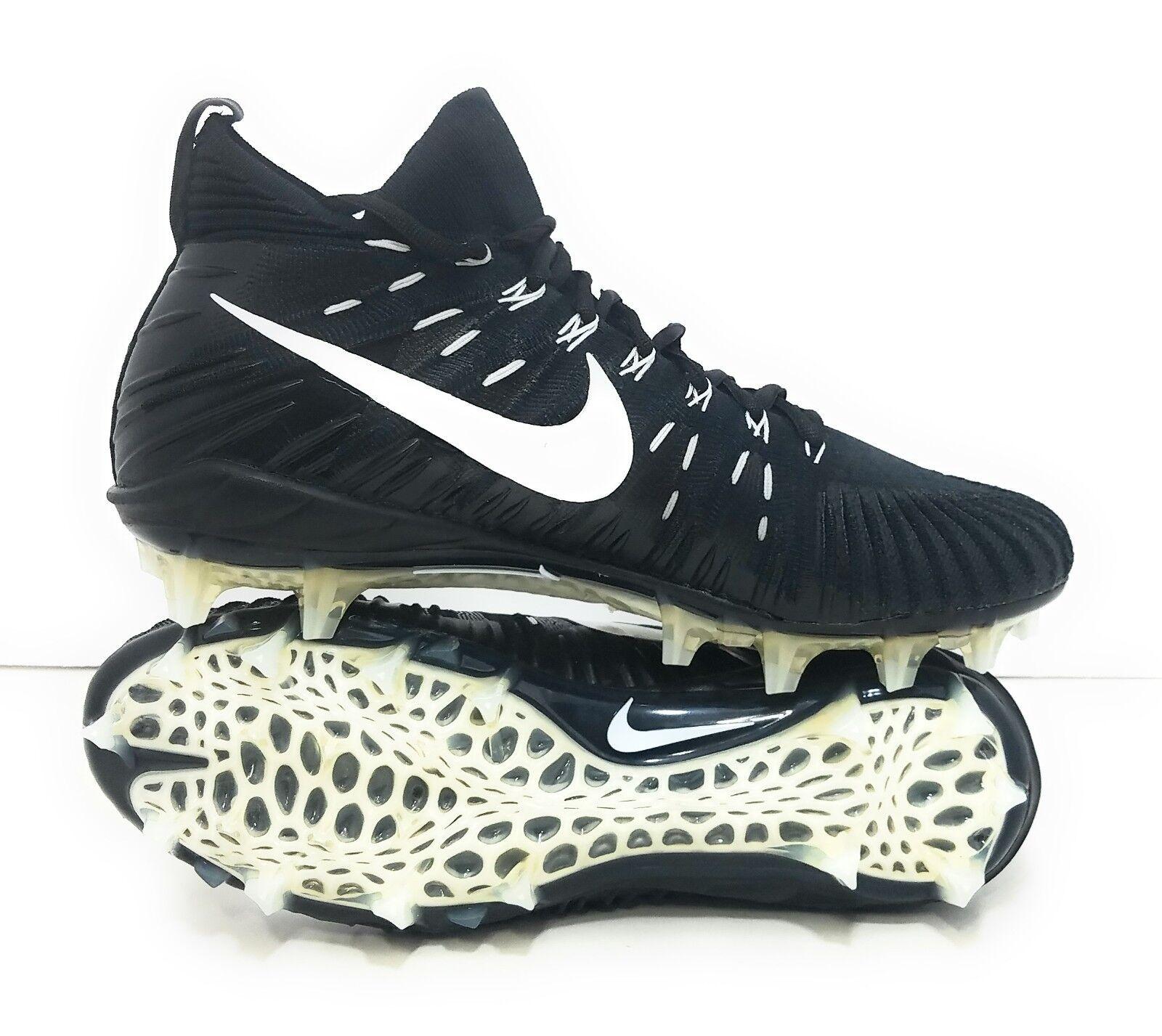 Nike Alpha Menace Elite Football Cleats 871519-010 Black White Mens SZ 13 NEW