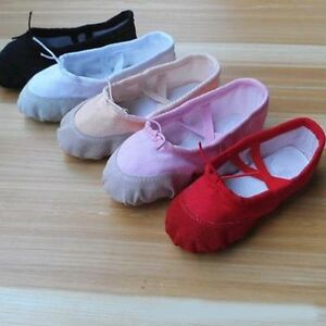 Womens-Girls-Comfort-Boat-Shoes-Flats-Ballet-Dancing-Ballerina-Shoes-Full-Size
