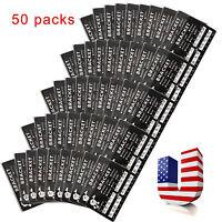 50 Packs Dental Brackets Braces Mini Mbt.022 Slot Hooks 3 Monoblock Orthodontic