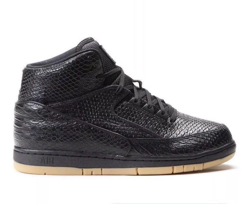 Nike Air Python Premium Black Gum Light Brown 705066 001 Mens Size 10.5