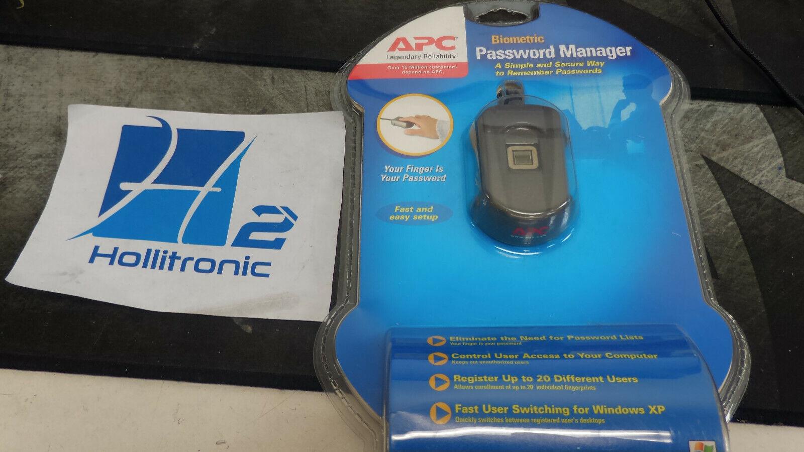 APC BIOMETRIC PASSWORD MANAGER WINDOWS DRIVER